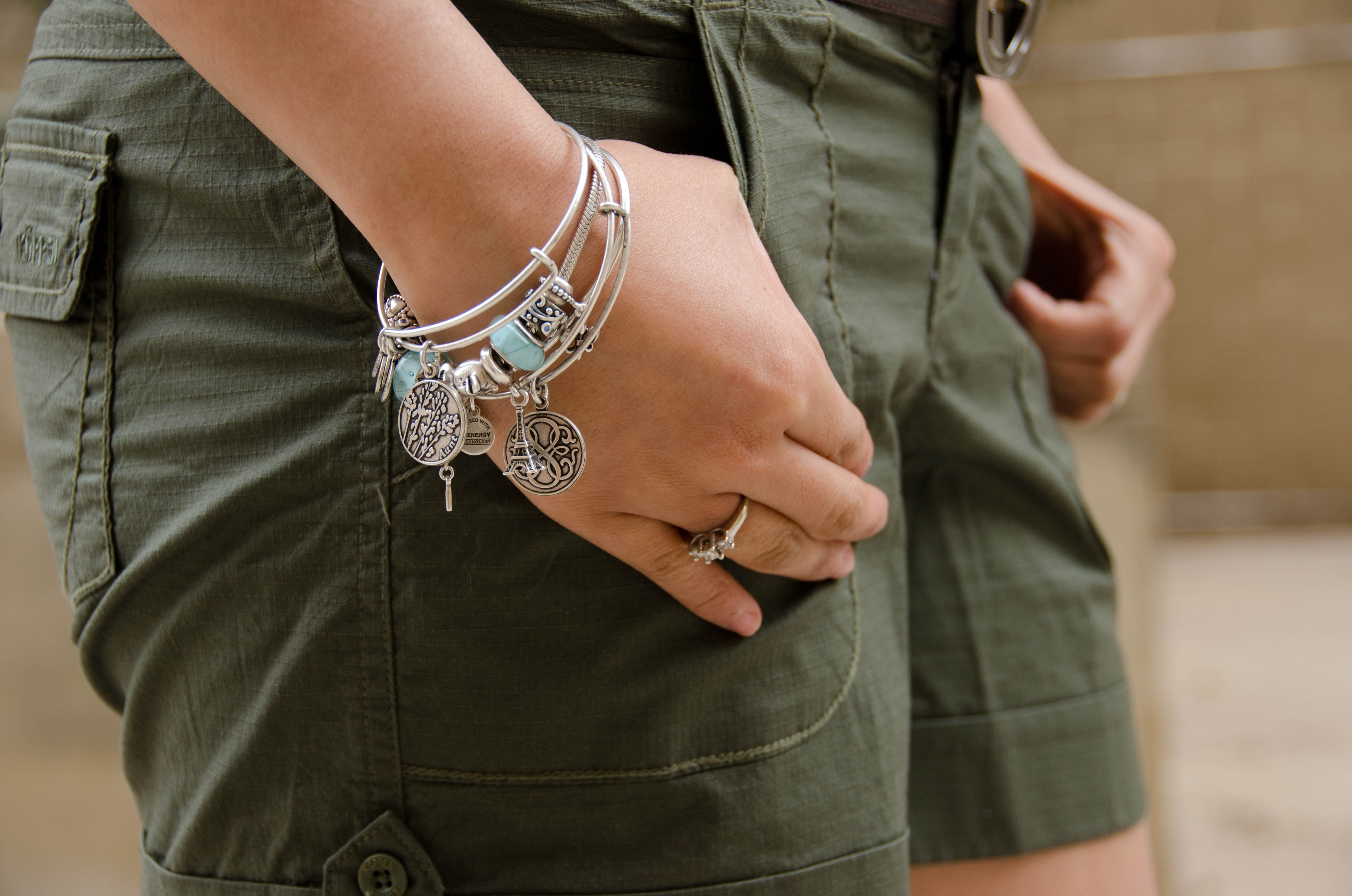 How to wear multiple alex and ani bracelets